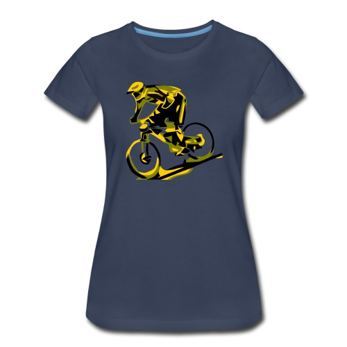 DH Freak - Mountain Bike Hoodie - Women's Premium T-Shirt