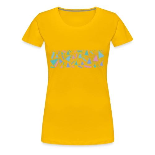90s Pattern - Women's Premium T-Shirt