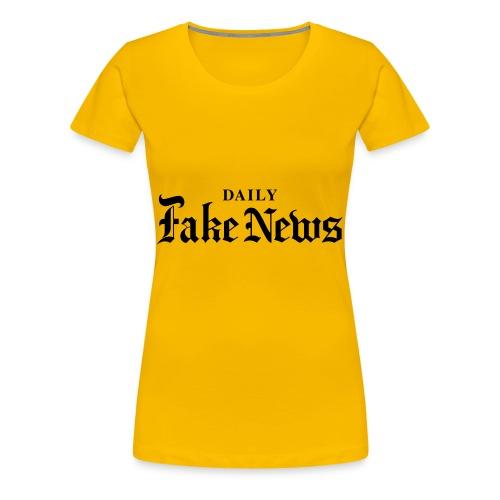DAILY Fake News - Women's Premium T-Shirt