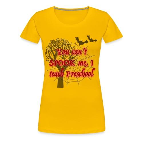 Spooky Preschool Teacher - Women's Premium T-Shirt