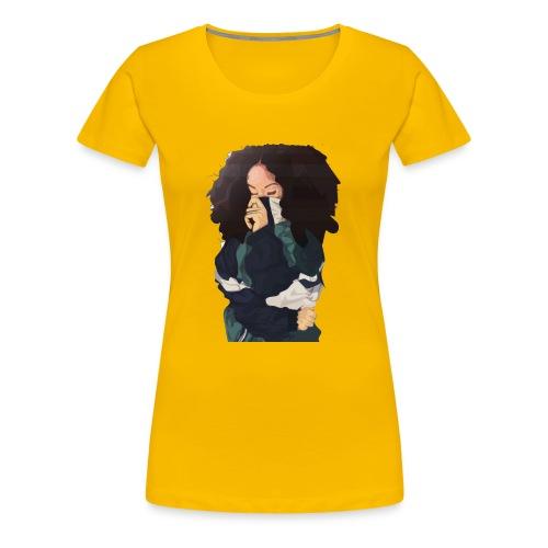CHILL GIRL ART - Women's Premium T-Shirt