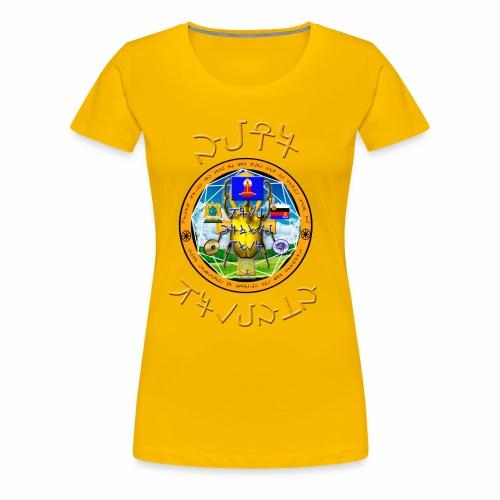 I Am KaLu Mandala - Women's Premium T-Shirt