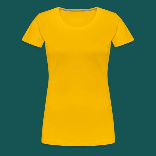 BK0AI - Orange Logo - Women's Premium T-Shirt