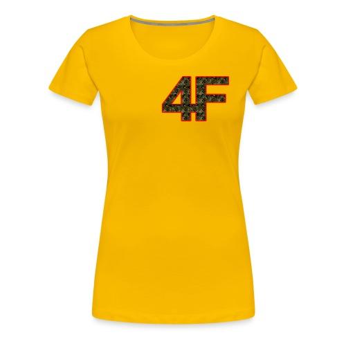 4-F Camouflage - Women's Premium T-Shirt