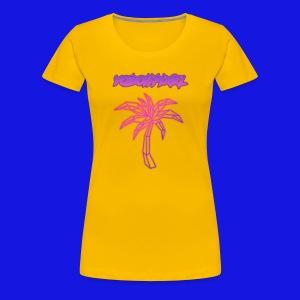 pink fire - Women's Premium T-Shirt