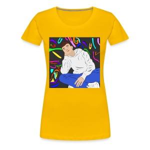 Adam graffiti - Women's Premium T-Shirt