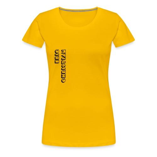 Eric Christian Side Logo Black - Women's Premium T-Shirt