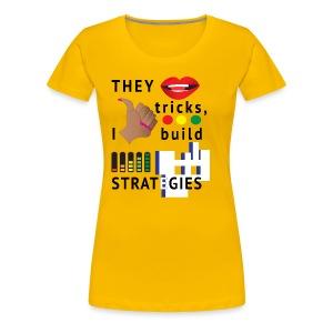 Strategies - Women - Women's Premium T-Shirt