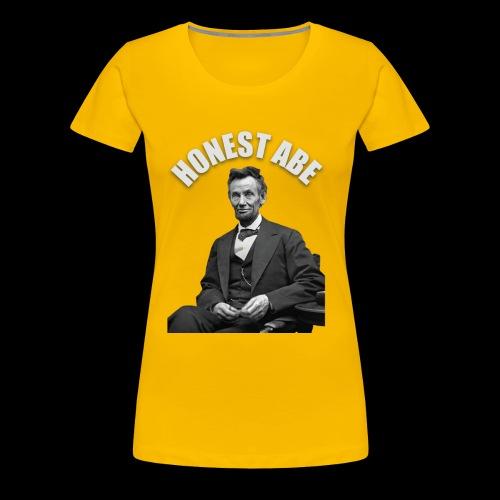 Honest Abe - Women's Premium T-Shirt