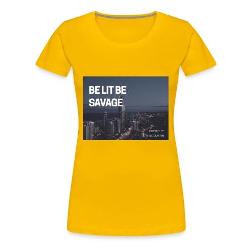 17C025B5 D32D 4FB1 834E 73D2D594C3E7 - Women's Premium T-Shirt