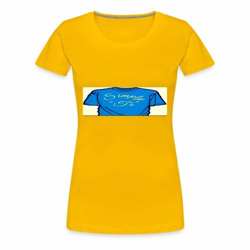 Q's Simply T's - Women's Premium T-Shirt