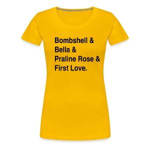 Rach FAVE shirt A - Women's Premium T-Shirt