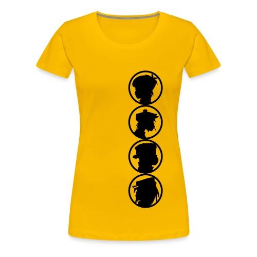 sillhouet - Women's Premium T-Shirt
