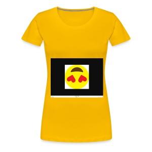 Love Heart - Women's Premium T-Shirt