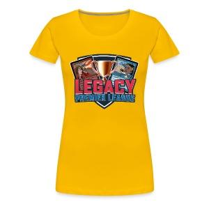 Legacy Premier League - Women's Premium T-Shirt