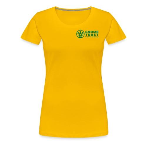 GNOMETRUST - Women's Premium T-Shirt