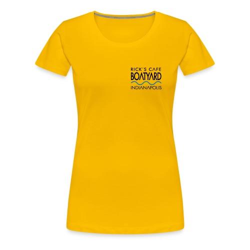 Rick's Boatyard Logo - Women's Premium T-Shirt