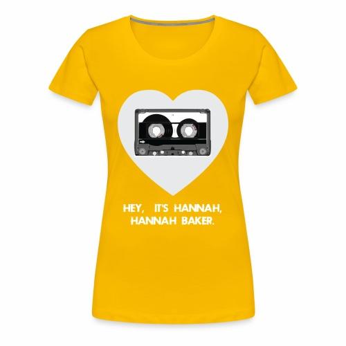 HANNAH BAKER t-Shirt - Women's Premium T-Shirt