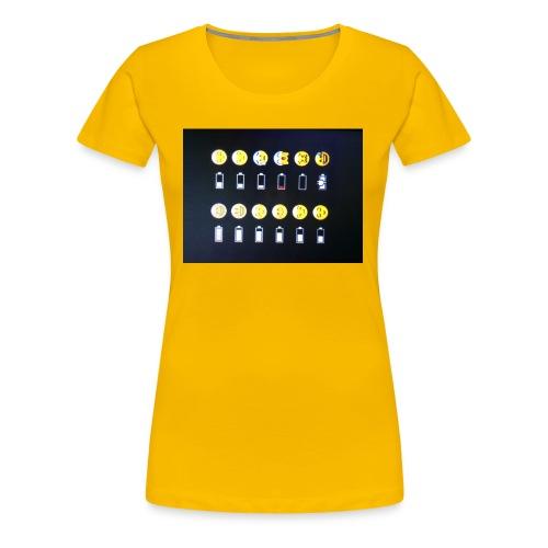 Battery life !?!!! - Women's Premium T-Shirt