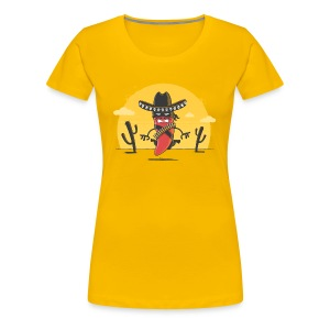 Chili Bandito - Women's Premium T-Shirt