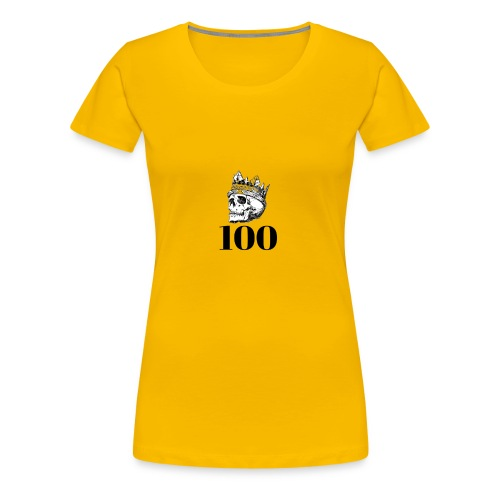100 subs merch - Women's Premium T-Shirt