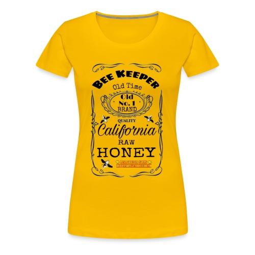 Beekeeper Whiskey lable - Women's Premium T-Shirt