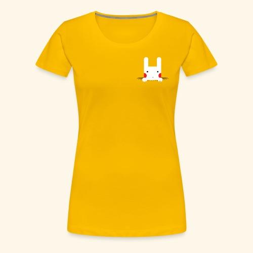 Pocket Bunny - Women's Premium T-Shirt