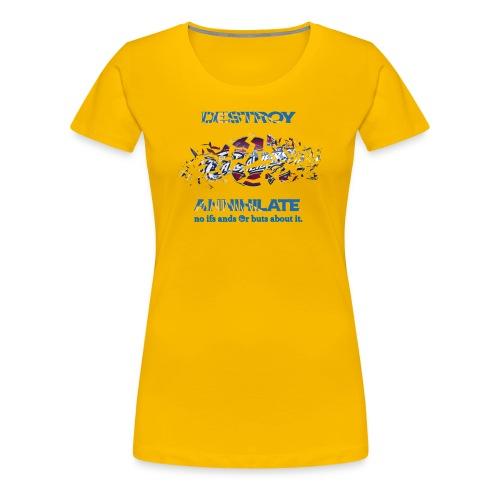Golden State Warriors Yellow - Women's Premium T-Shirt