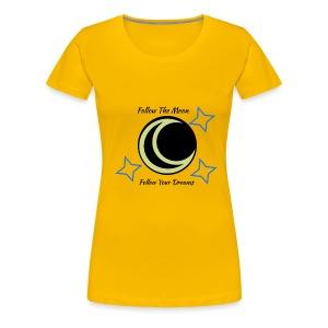 Follow The Moon - Women's Premium T-Shirt