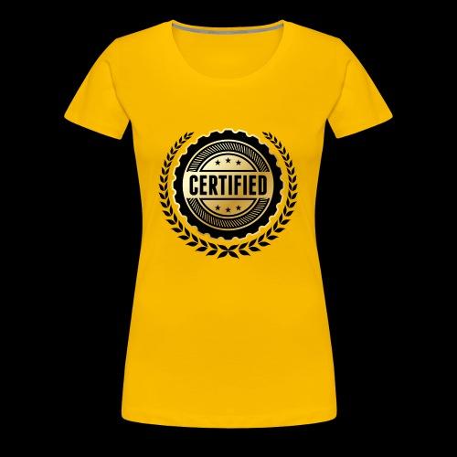 Block certified - Women's Premium T-Shirt