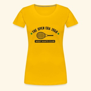 The Open Era 1968 - Women's Premium T-Shirt