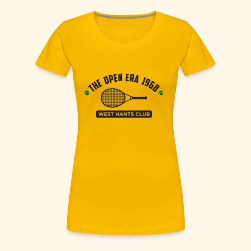 The Open Era 1968 - Women's Premium T-Shirt
