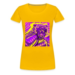 PurpleBoxinBear - Women's Premium T-Shirt