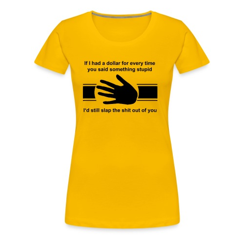 SLAP - Women's Premium T-Shirt