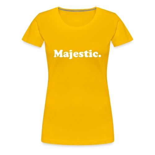 Majestic - Women's Premium T-Shirt