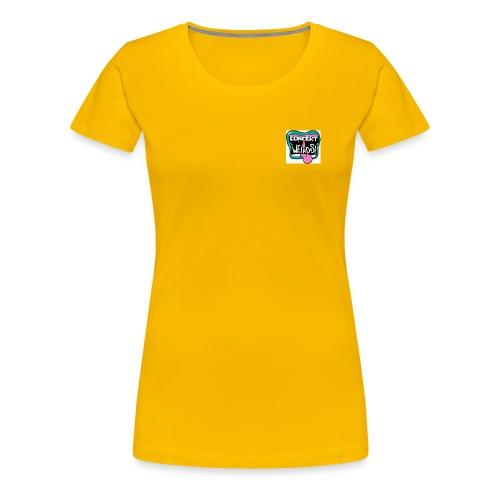 concert weirdo - Women's Premium T-Shirt