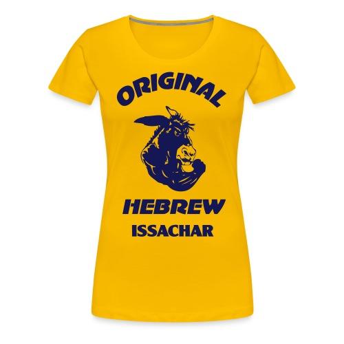 ISSACHAR - Women's Premium T-Shirt