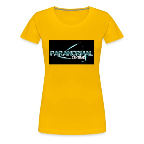 Paranormal Central On Black - Women's Premium T-Shirt