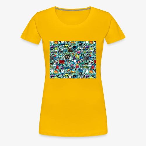 Wild Thoughts - Women's Premium T-Shirt