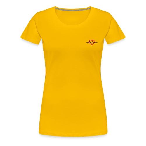 My Heart Beat - Women's Premium T-Shirt