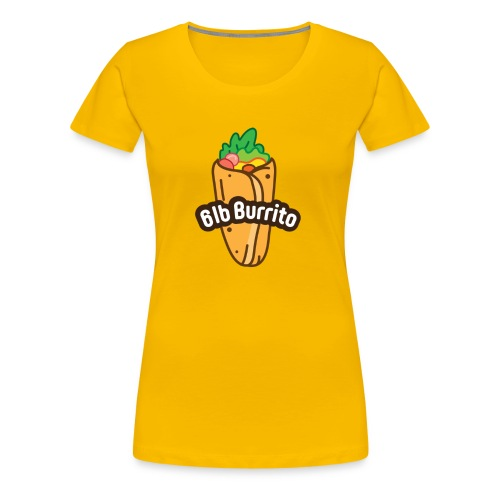 Burrito Logo - Women's Premium T-Shirt