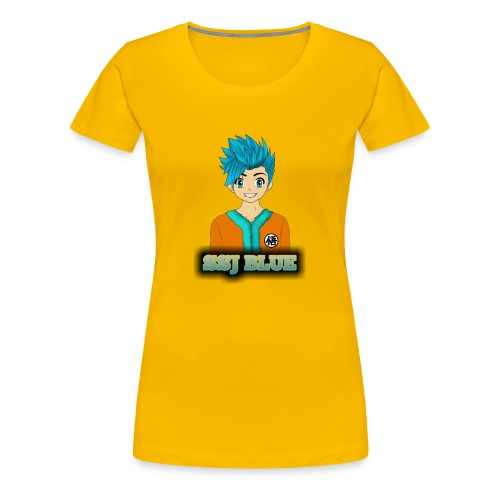 SSJ BLUE - Women's Premium T-Shirt
