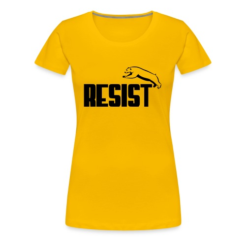 RESIST BEAR - Women's Premium T-Shirt