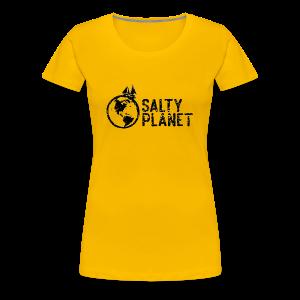Salty Planet Dos - Women's Premium T-Shirt