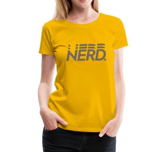 Nerd Statement Shirt - Women's Premium T-Shirt