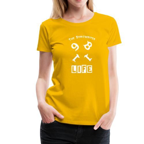 THE SONGWRITER 1981 - Women's Premium T-Shirt