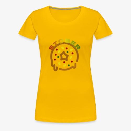 Donut - Women's Premium T-Shirt