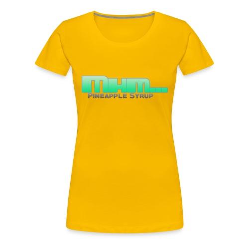 Mhm - Women's Premium T-Shirt