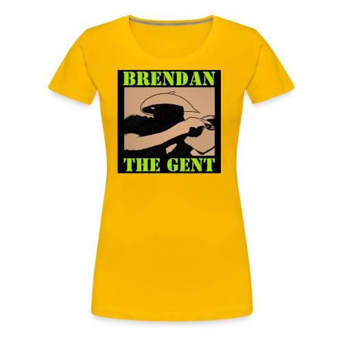 Brendan The Gent Logo - Women's Premium T-Shirt