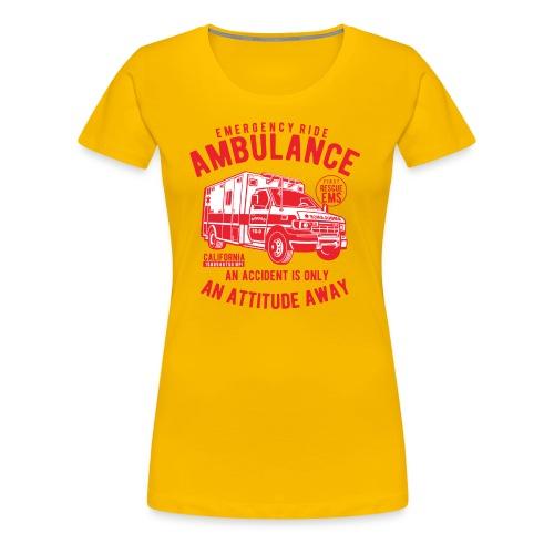 EMERGENCY RIDE - Women's Premium T-Shirt